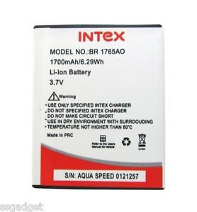 Intex Aqua Speed OG Battery 1700 mAh