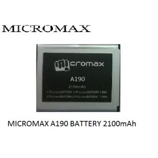 Micromax A190 2100 mAh OG Battery