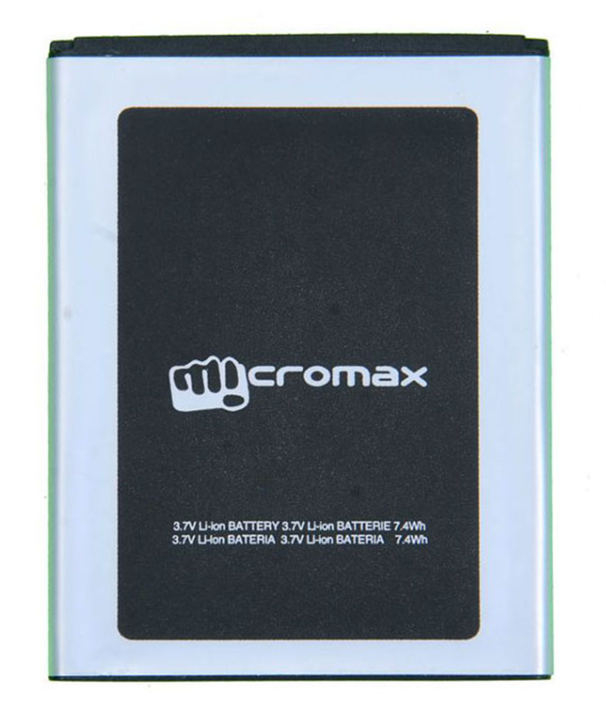 Micromax Canvas Juice ( A177/77 ) OG Battery 2500mAh