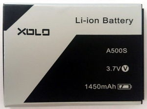 XOLO A500S OG Battery 1450 mAh Price